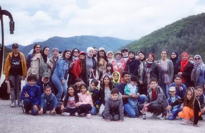 اتحاد المراة والاسره المصريه والعربية ينظم رحله ترفيهيه ورياضية للسيدات والاطفال بالنمسا