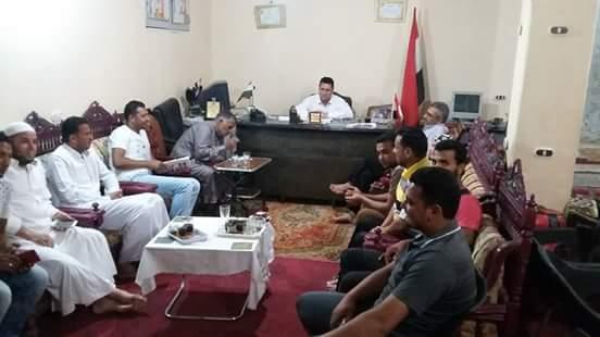 قبيلة القطاطوة بشمال سيناء يطالبون رضا الشاعر بالترشح لانتخابات النواب ويرفض
