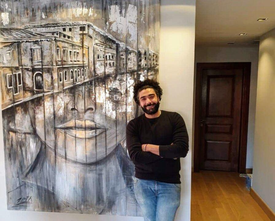 """""""""""خالد زين"""""""" ..فنان تشكيلي بنكه خاصه ولكن من هو ذاك الفنان؟"""