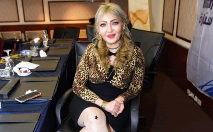 تكريم الإعلاميه د. إيمي حسين من الإتحاد الوطني للنساء الجزائريات كأفضل شخصيه نسائيه 2020 لخدمه المجتمع المدني