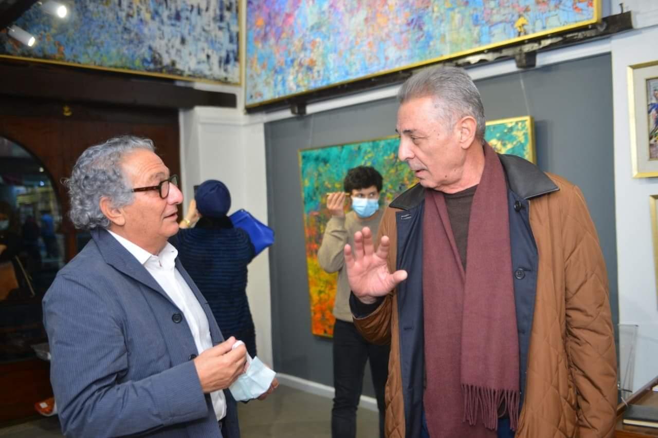 """رحله جديده في الفن التشكيلي تحت اسم """"مواسم """" بحضور نجوم الفن"""