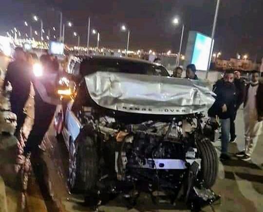 """بالصور .. تفاصيل جديد عن حادث أليم لمذيع التوك شو """"عمرو اديب"""" علي طريق دهشور و انفعال زوجته لميس الحديد غير متوقع"""