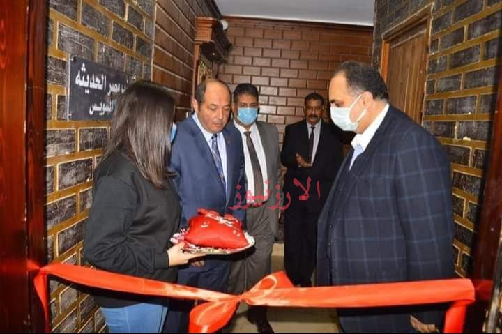 بالصور : افتتاح مقر جديد لحزب مصر الحديثة بالسويس