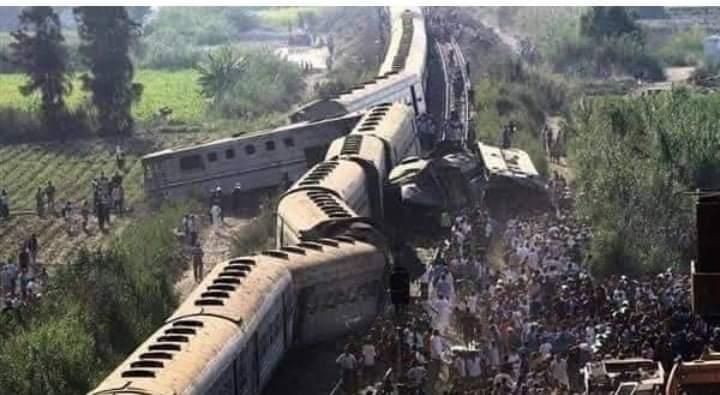 السيس يأمر بمضاعفه التعويضات لشهداء حادث القطار