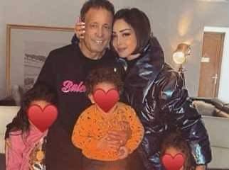 """""""بسمة بوسيل""""  زوجه الفنان تامر حسني تنعي والدها: """"حياتي كلها راحت"""""""