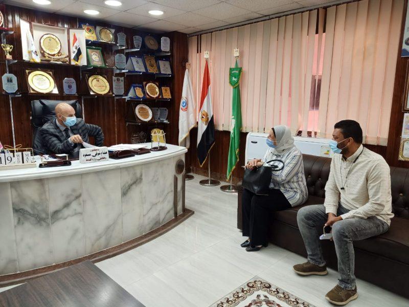 طوارئ ههيا بمحافظة الشرقية يدرج ضمن الزمالة الطبية  المصرية