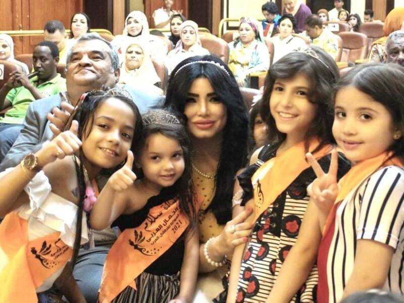 تكريم مروى اللبنانية في ختام مهرجان الأطفال العرب للموضة وتلقبيها بالملكة