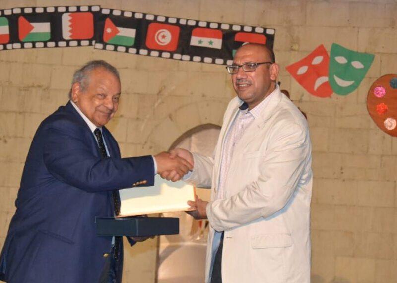 الاحتفال يعد الأول الذى يهتم بالطفل العربىوتكريم د. ابراهيم ابو ذكري بالدار البيضاء