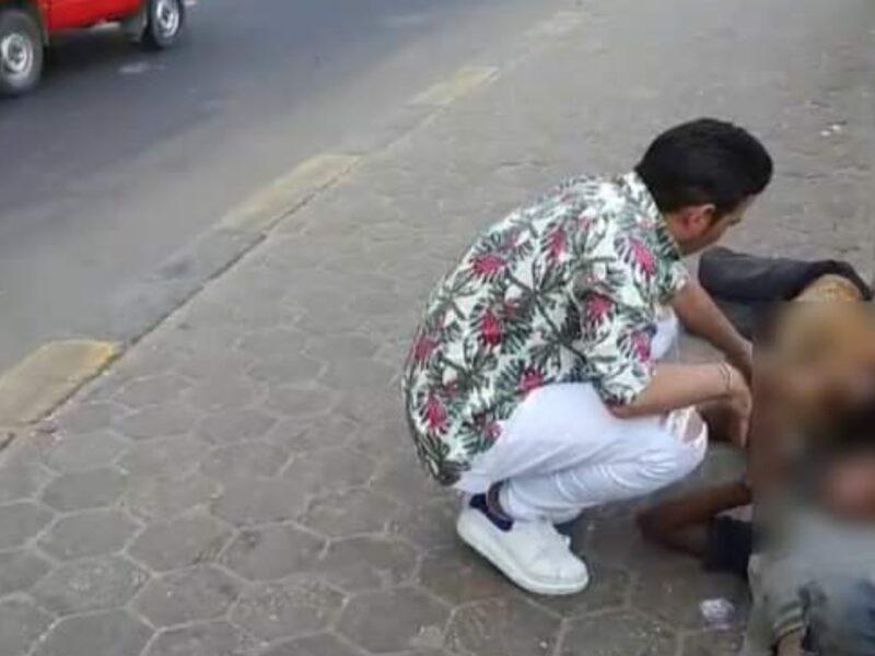 """""""سعد الصغير"""" ابن البلد والفنان ينقذ طفلان من الضياع جراء قسوه الام في محافظه الاسكندريه"""