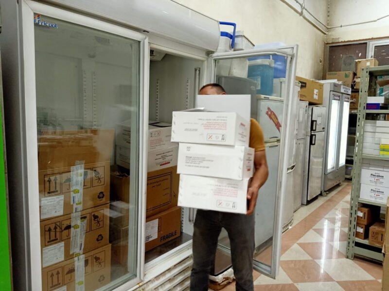 تشليم طعوم  كرونل لجامعة الزقازيق